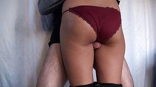 Interracial Sex with Cumshot