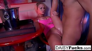 Sexy stripper determines to give her customers an additional lap dance
