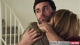 Hot ash-blonde (Kayden Kross) penetrates the pizza boy - Digital Playground