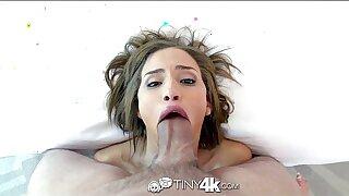 4K HD - Tiny4K Nubile Natasha White loves huge cock