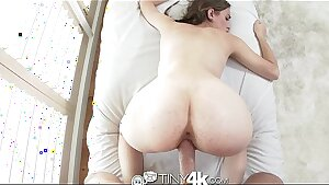 Tiny4K Pretty redhead deepthroat and fucked in the ass