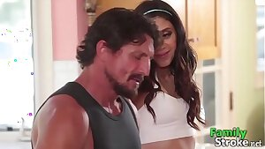 Strenuous Father Fucking His Tricky Daughter - FamilySTROKE.net HD Porn