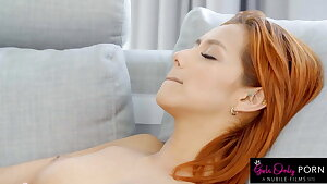 Sensual Yoga Session Turns into a Steaming Lezzy Fuck