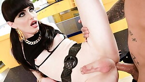 Natalie Mars Face Ravaged With Pigtails Before Culo Pounded