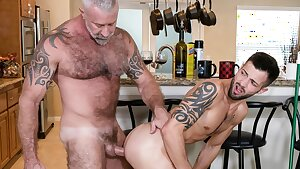 Young Twink Boy Grandson Family Fuck-a-thon With Hot Hunk Grandpa