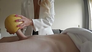boob cock milking at the man-meat spa