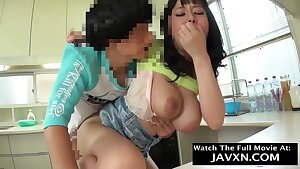 Japanese Mom And Stepson Have Some Fun - Milf