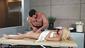 She Can't Stop Squirting Hard While Being Spanked & Fingered