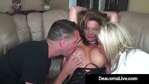 Role Have fun by Fabulous Cat Doll Milf Deauxma Ends In 3 Way Fuck!