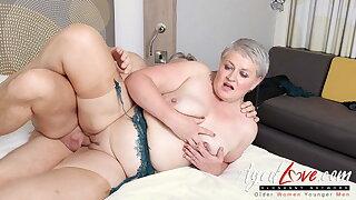 AgedLovE, Hot Mature Lady Sucking Enormous Hard Dick