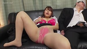 Asian mommy has sex adventures with two different dudes