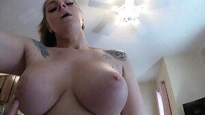 Stepmom with immense tits helps me with poison ivy – FULL VID
