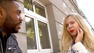 Private Black - 4 BBCs In Gangbang With Florane Russell!