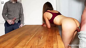 Cuckold Husband Watches His Wife Creampied By Stranger