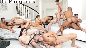 BiPhoria - Anything Heads At Couple's First Bisexous Orgy