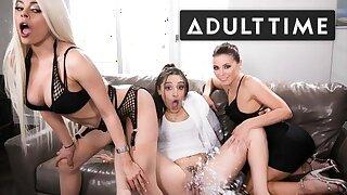 Abella Danger, Luna Star & Adriana Chechik Wettened in SQUIRT!