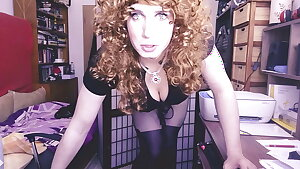 Sissy boss is not pleased with your job